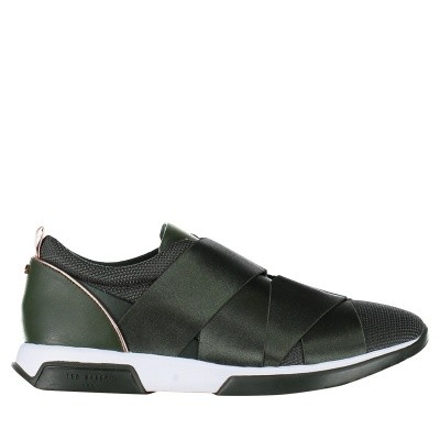 Picture of Ted Baker 917727 womens sneakers dark green