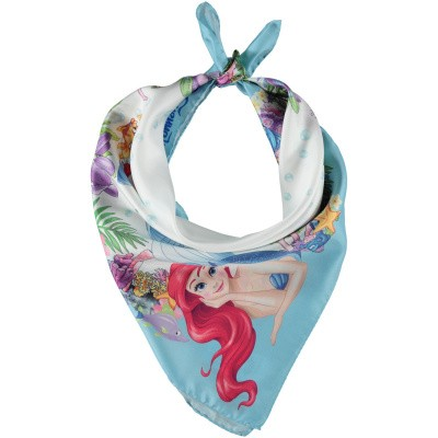 Picture of MonnaLisa 193017 kids scarf light blue