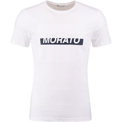 Afbeelding van Antony Morato MKKSSO1374 heren t-shirt wit