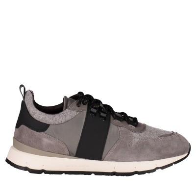 Afbeelding van Woolrich W300140 419 heren sneakers grijs