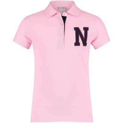Afbeelding van NIK&NIK G8843 kinder polo licht roze