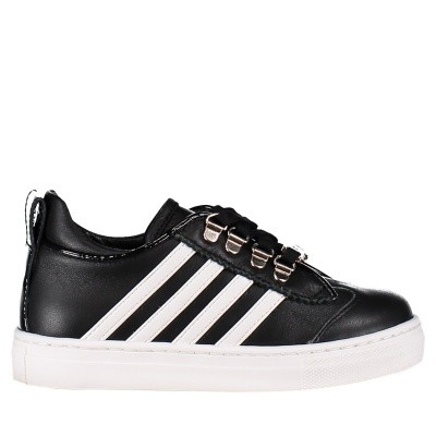 Picture of Dsquared2 57017 kids sneakers black