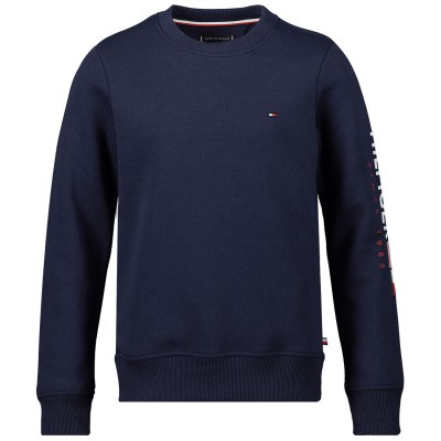 Picture of Tommy Hilfiger KB0KB04967 kids sweater navy