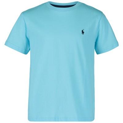 Afbeelding van Ralph Lauren 703638K kinder t-shirt turquoise