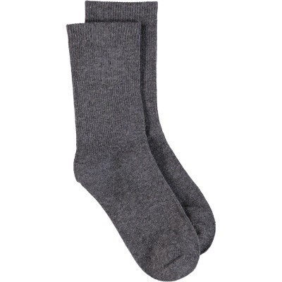 Picture of Bonnie Doon BD733401 kids socks dark gray