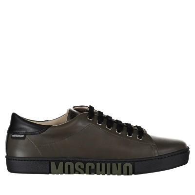 Afbeelding van Moschino 26255 kindersneakers army