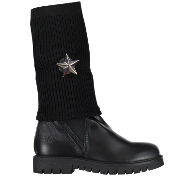 Picture of EB BETTA kids boots black