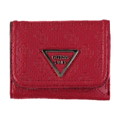 Picture of Guess SWSG7100430 womens wallet red