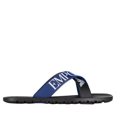 Picture of Armani XYPS03 kids flipflops black