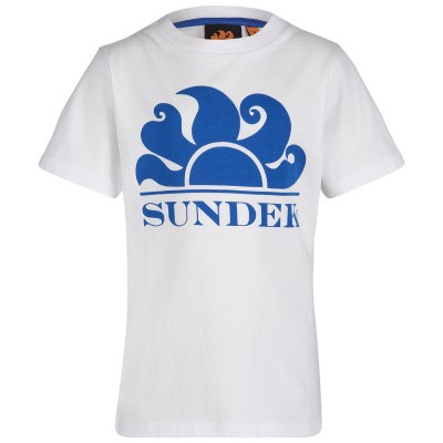 Afbeelding van Sundek B021TEJ7800 B baby t-shirt wit