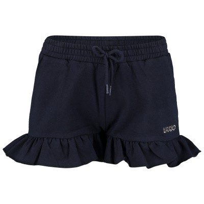 Picture of Liu Jo K19083 kids shorts navy