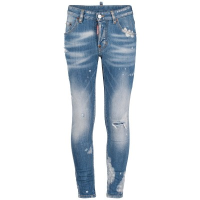 Photograph of Dsquared2 DQ021D D00TE kids jeans jeans