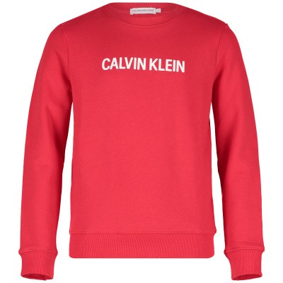 Picture of Calvin Klein IG0IG00102 kids sweater red