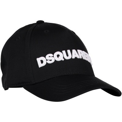 Picture of Dsquared2 DQ038I kids cap black