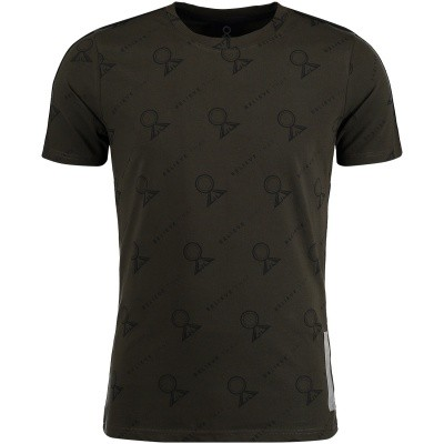 Picture of Believe That BLVTTS180606 mens t-shirt army