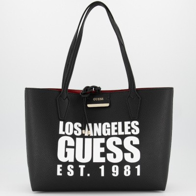 Picture of Guess HWAF6422150 womens bag black