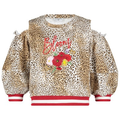 Picture of MonnaLisa 193619RC kids sweater panther