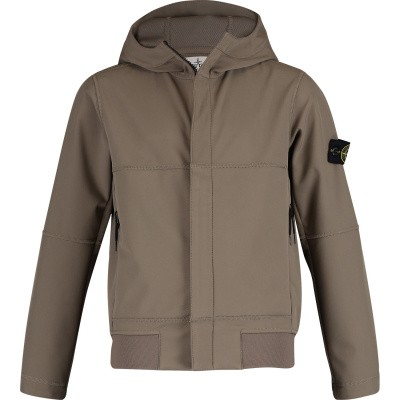 Picture of Stone Island 701640234 kids jacket taupe