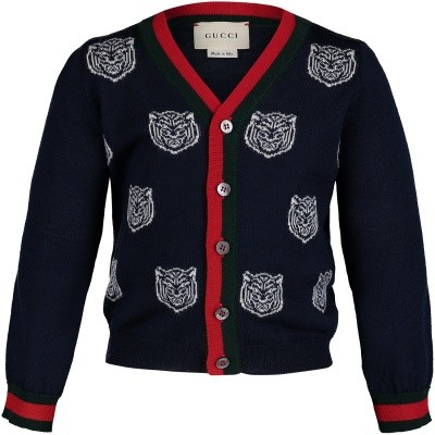 Picture of Gucci 512516 baby vest navy
