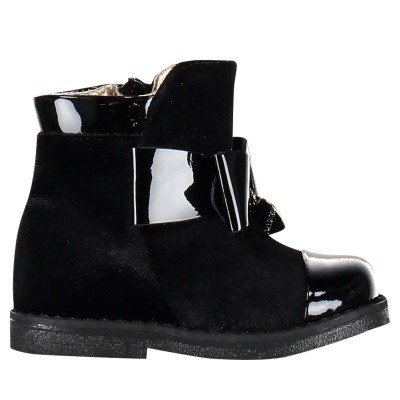 Picture of MonnaLisa 832021 kids boots black