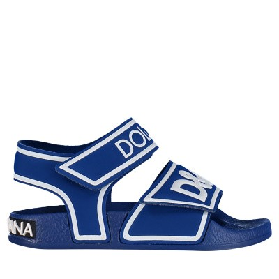Picture of Dolce & Gabbana DD0917 kids sandals cobalt blue