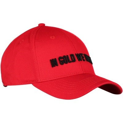 Afbeelding van in Gold We Trust FAC001 herenpet rood
