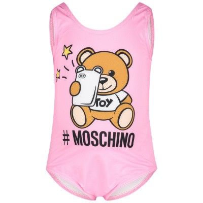 Picture of Moschino MAL00A baby swimwear pink