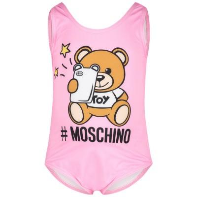 Afbeelding van Moschino MAL00A baby badkleding roze