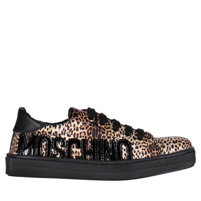 Picture of Moschino 0012013673 kids sneakers panther