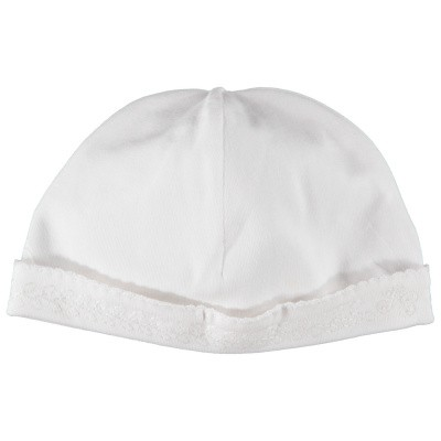 Picture of Tartine et Chocolat TN90001 baby hat white