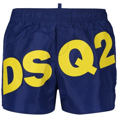 Picture of Dsquared2 DQ03BK kids swimwear cobalt blue