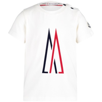 Picture of Moncler 8024750 baby shirt off white