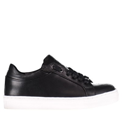 Picture of Boss J29169 kids sneakers black