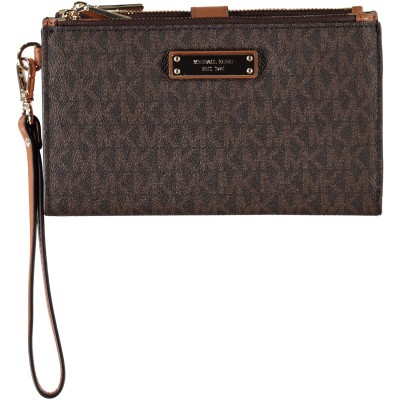 Picture of Michael Kors 32T7GAFW4B womens wallet brown