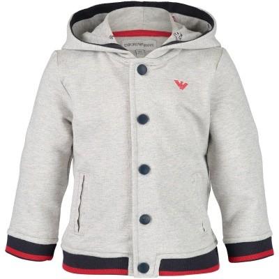 Afbeelding van Armani 6ZHB05 baby vest grijs