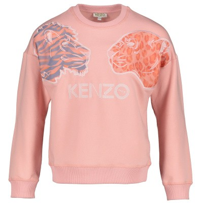 Picture of Kenzo KN15178 kids sweater pink