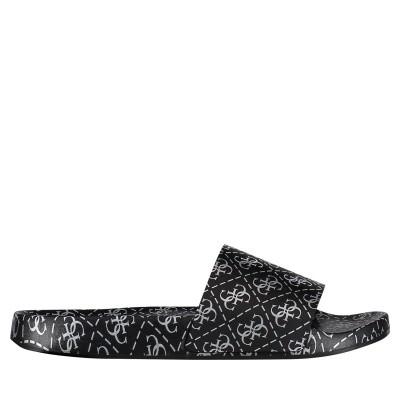 Afbeelding van Guess FL6SAVRUB19 dames slippers zwart