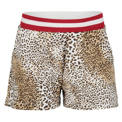 Afbeelding van MonnaLisa 193411 kinder shorts panter