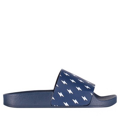Picture of The White Brand K0120 kids flipflops navy