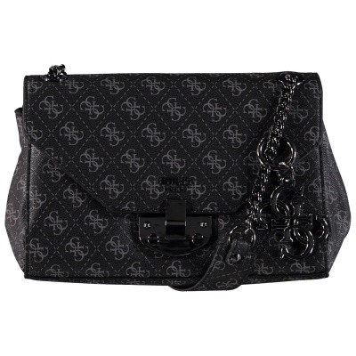 Picture of Guess HWSM7103200 womens bag black