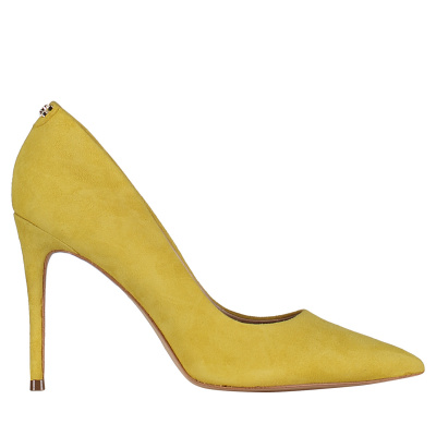 Afbeelding van Guess FL6BLNSUE08 dames schoenen geel