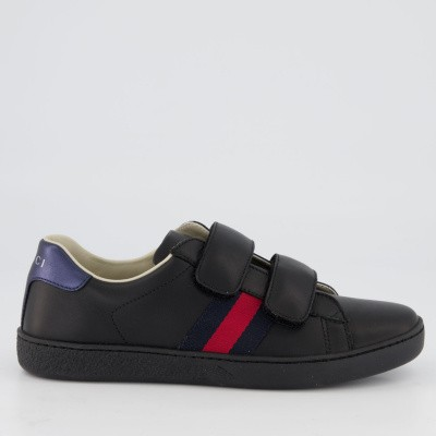 Picture of Gucci 455496 CPWC0 kids sneakers black