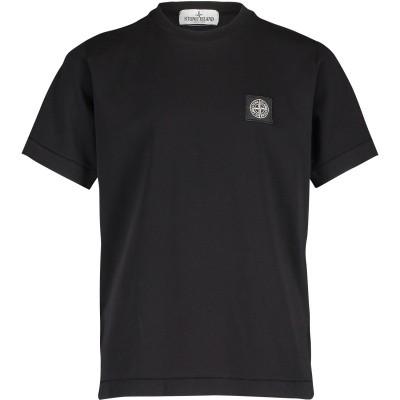 Afbeelding van Stone Island 701620147 kinder t-shirt zwart