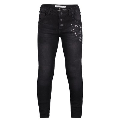 Picture of Guess K91B01 kids jeans black