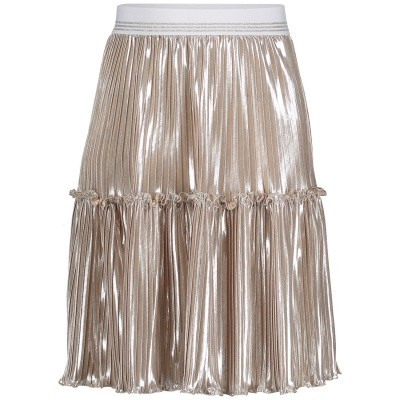 Picture of MonnaLisa 713702 kids skirt silver