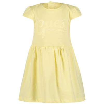 Picture of Guess A92K08 baby dress yellow