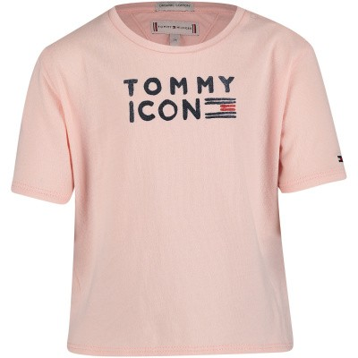 Picture of Tommy Hilfiger KG0KG04392 B baby shirt light pink