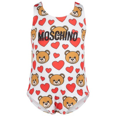 Picture of Moschino MDL00A baby swimwear off white