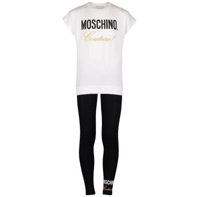 Picture of Moschino HDK010 kids set black