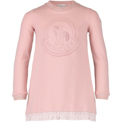 Picture of Moncler 8572005 kids dress light pink